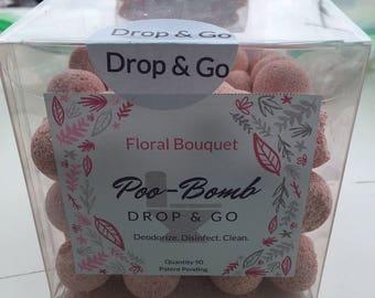 Floral Bouquet Poo Bomb