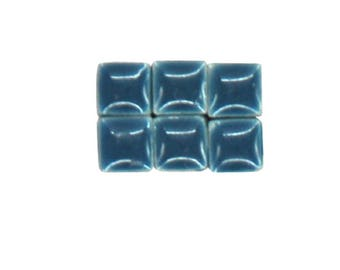 1 oz - 5 mm size COLONIAL BLUE Ceramic Mosaic Tiles - approximately 190 - 200