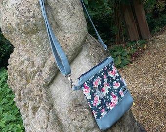 Crossbody Bag/ Shoulder Bag/ Zipper Crossbody Bag/ Jasmine sling bag/ Zipper Handbag/ handmade bag/ Sling Bag/ Ladies Handbag/ Purse/