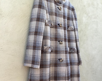 1960s Lord & Taylor Coordinated Coat and Dress Set