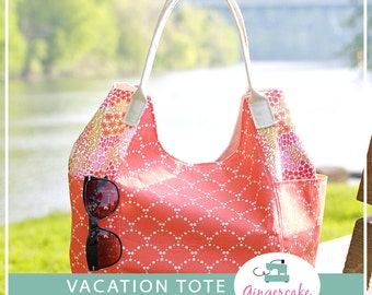 Vacation Tote Pdf Sewing Pattern