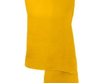 Mustard Handmade 100% Pure Cashmere Shawl Wrap Scarf - Pashminas and Wraps - Also available In 36 Other Colours