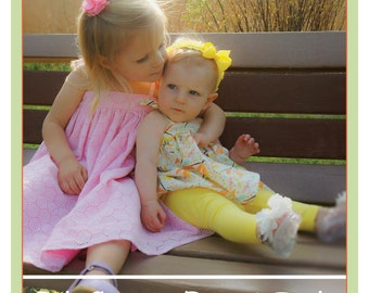 Ollie and Annie Collection - Ellie Dress and Tunic PDF Pattern