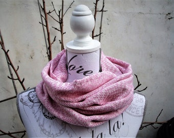 Handwoven cowl scarf
