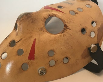Friday the 13th: Part 3 Inspired Hockey Mask (Jason Voorhees)
