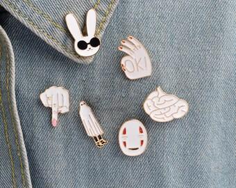 Set pins, enemal pin, funny pin, badge, brooch