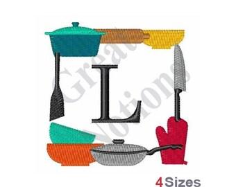 Monogram L - Machine Embroidery Design