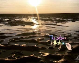English Sunset photo digital print download wall art