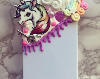 Unicorn Delight Decoden iPhone 4 case