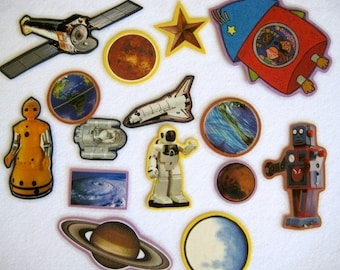 Space Adventure Felt Board Story Set