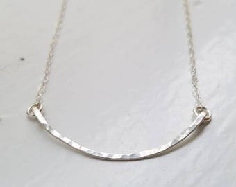 Sterling Silver Minimalist Necklace