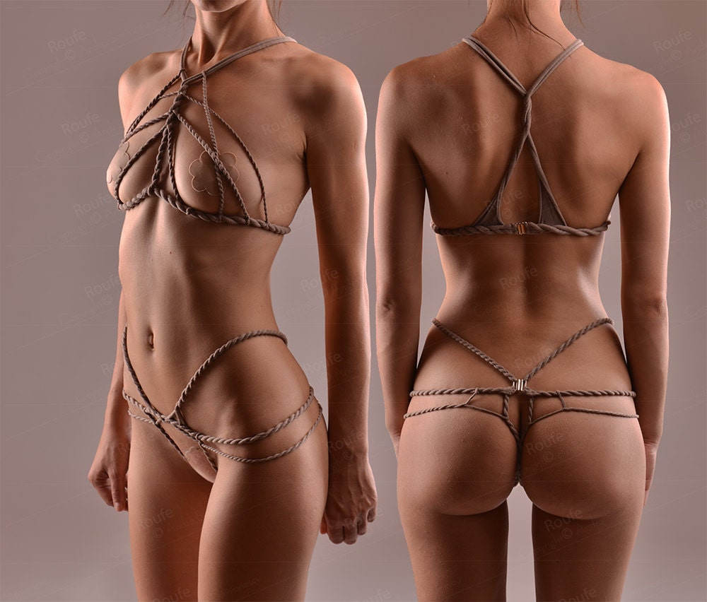 Cupless And Crotchless Lingerie