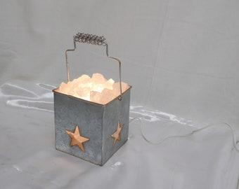 Star Galvanized Bucket with Handle
