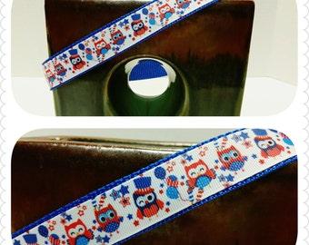 Patriotic Dog Collars, Cupcake Dog Collar, Dog Collar, Dog Supplies, 4th of July Dog Collar, USA Dog Collar, USA Decor, Owl Dog Collar