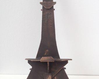 3-D Miniature Eiffel Tower Easel