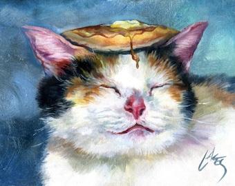 Larger Print / Kitty Bliss Pancake