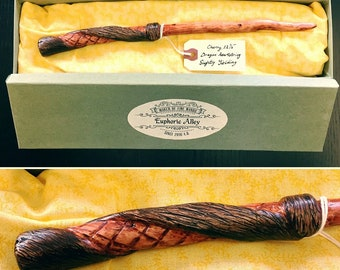 Custom wand - Hand carved - Made to order