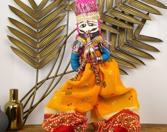 Traditional Indian - the Maharajah - Indian Puppet marionette