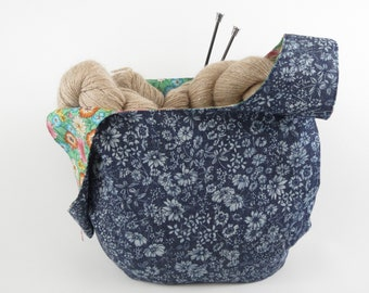 Reversible Japanese Knot Bag