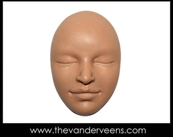 Mold No.56 (Face-Women or Men with closed eyes) by Veronica