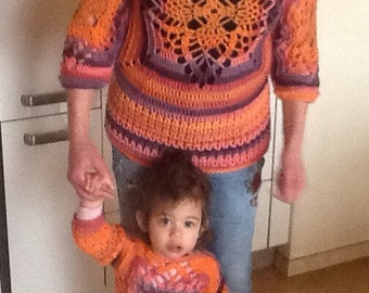 Pattern Crochet Sweaters