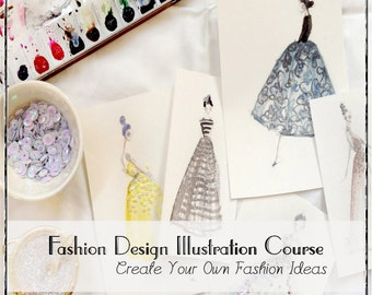 Fashion Design And Illustration Online Class - Video Course