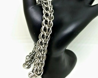 Bracelet - 16g Full Persian - Stainless Steel - Chainmaille