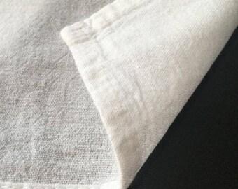 Flour Sack Towel,Plain,Blank Tea Towels,Dish cloths,Kitchen Towel,housewarming,eco friendly kitchens,zero waste,white,cotton,hand embroidery