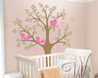 Princess Tree - Nursery Wall Decal