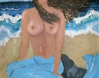Mermaid, Original Painting
