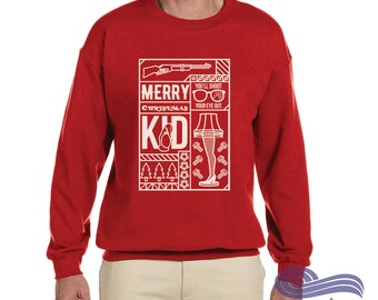 Christmas Story Ugly Sweater, Ugly Christmas Sweater, Ugly Holiday Sweater, Christmas Story, Funny Ugly Sweater, Funny Christmas Shirt
