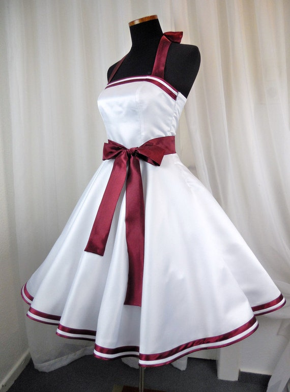 Petticoatkleid 50er-Jahre-Brautkleid