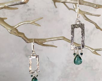 Green Ice Earrings