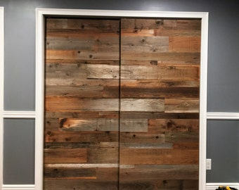Barn Door Sliding Barn Door Reclaimed Wood Rustic Door Door Sliding Door  Barn Wood Door Sliding Barn Doors