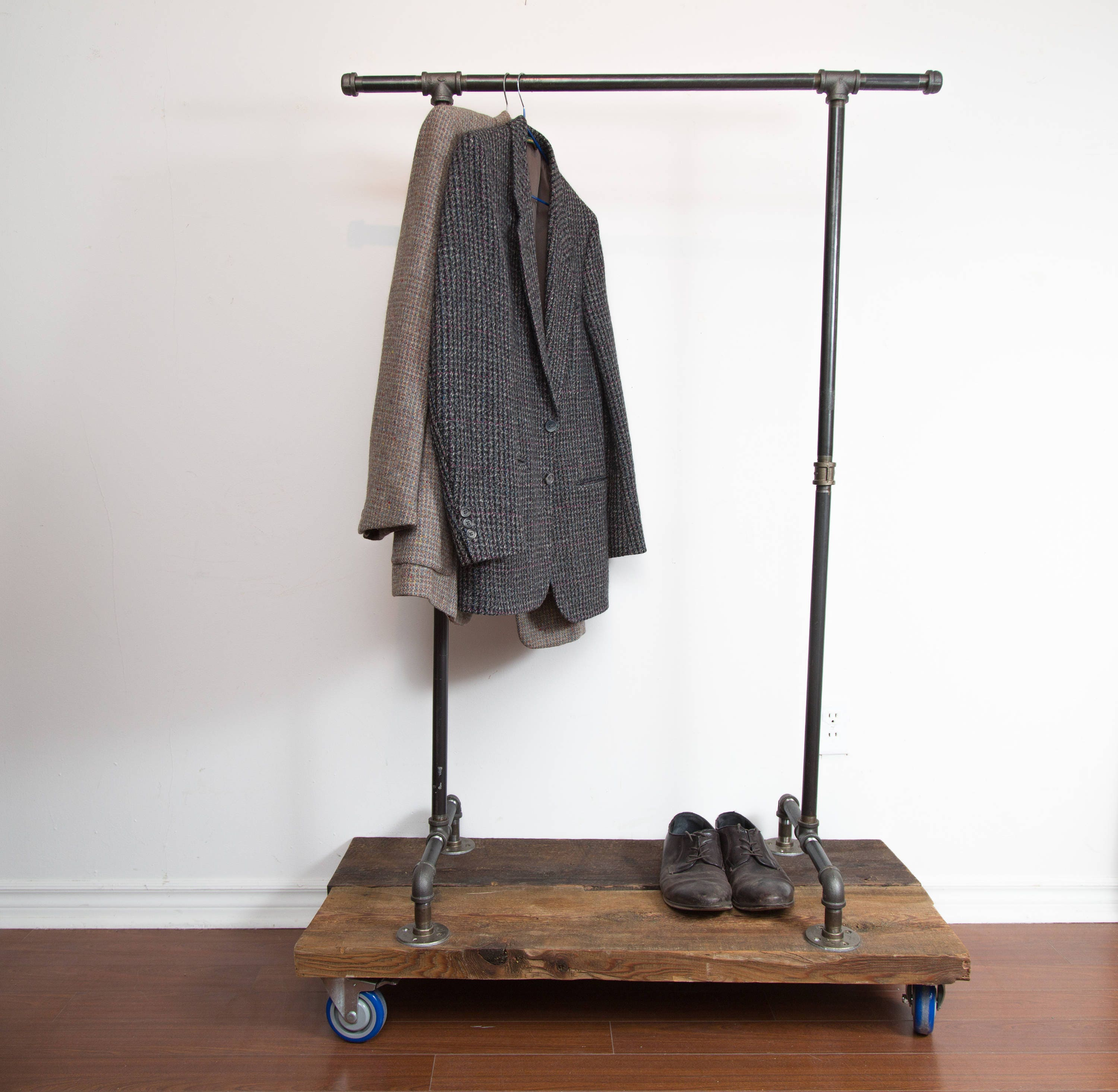 coat metal stand rack inside clothes collapsible
