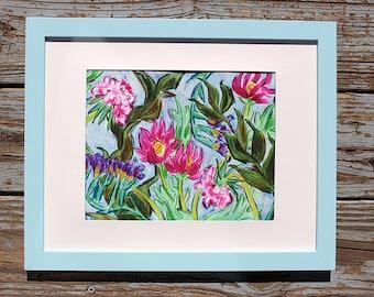 Flower Print, Chlorophyll
