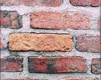 "Digital Download Bricks in Boston 12"" x 12"" 300 dpi"