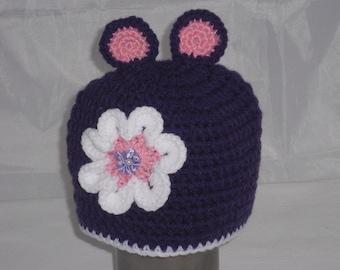 Baby-Child hat-cap ku 42-46 cm-handmade-crochet-beanie-hat-crochet cap