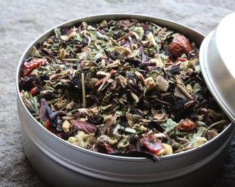 Healing Tisane - Loose leaf tin