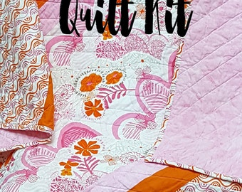 Quilt Kit for Infant-Toddler Quilt in Daydreams  by Kate Spain for Moda