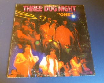 "On Sale! Three Dog Night "" One"" Vinyl Record LP DS-50018 Dunhill Records 1968"