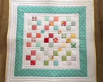 Baby quilt blanket