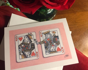 Valentine Match Card