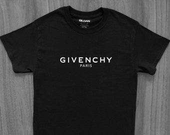 Givenchy Paris Unisex T-Shirt Balenciaga Gucci Louis Chanel Dior Addict YSL High Fashion Vetements LV Designer Gosha RAF Simons Rick Owens