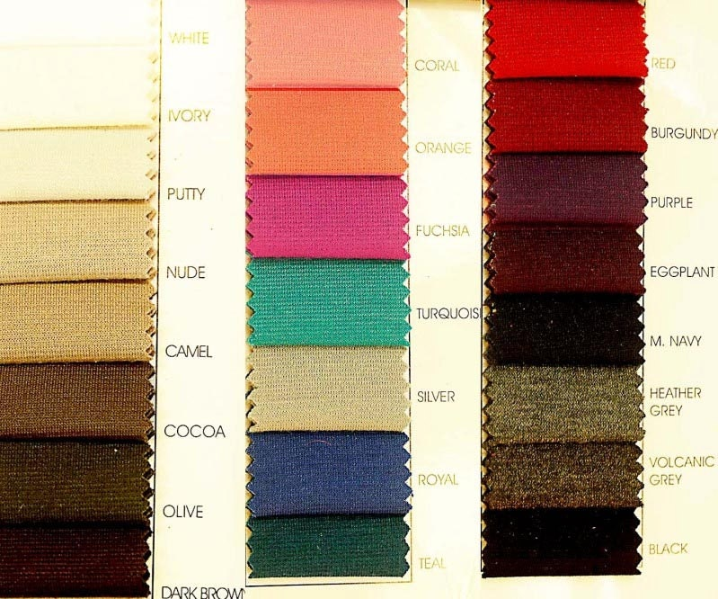 Ponte Stretch Double Knit Fabric Choice Of Color By The Yard