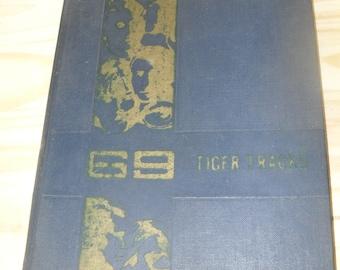 1969 Tallassee Alabama Tiger High School Yearbook