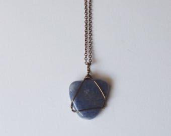 Blue Aventurine Necklace