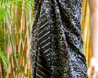 Cover up, Beach Sarong, Pareo, Wrap