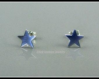 Star earring, silver star earrings stud, sterling silver post star earrings, danty star earring, star jewelry, everyday jewelry, girls gift