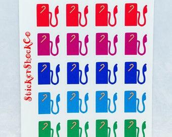 Gas Pump Stickers, Fuel Station Pump, Decorative Gas Stickers, Planner Stickers